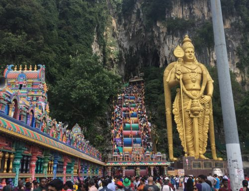 Hindu Culture in Malaysia:  Thaipusam at the Batu Caves