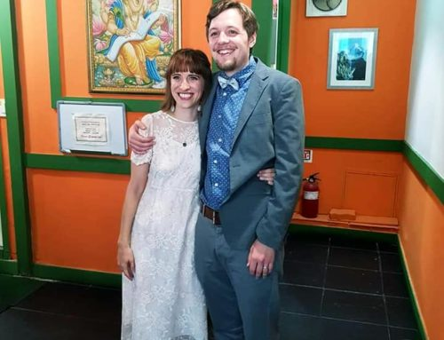 A Canadian and an American walk into a Nepalese restaurant in Korea. . .and get married!